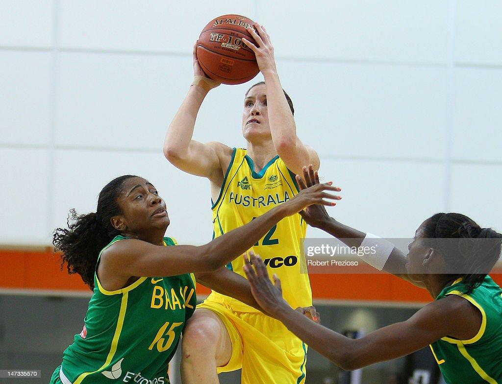 Australian Opals v Brazil: Game 3