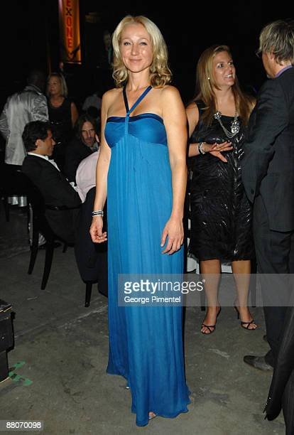 P Belinda Stronach attends OneXOne at Maple Leaf Gardens on September 8 2008 in Toronto Canada