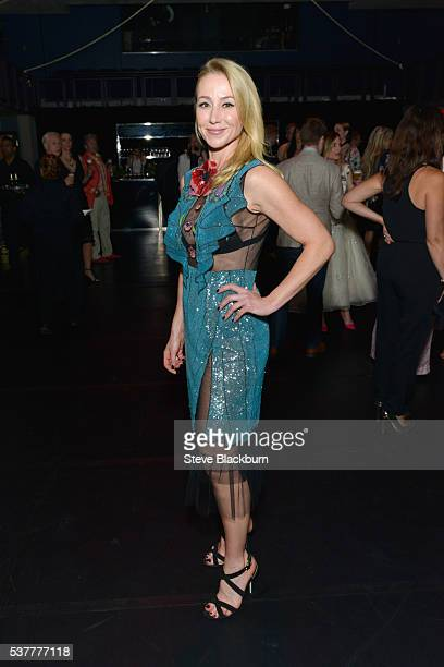 Belinda Stronach attends the Max Mara presents The Power Plant's Power Ball XVIII Pleasure Principle at Power Plant Gallery on June 2 2016 in Toronto...