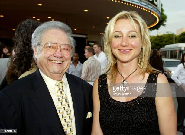 Belinda Stronach the President and chief officer of Magna International the owners of the Santa Anita race track and guest attend the world premiere...