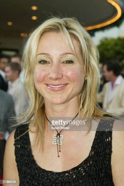 Belinda Stronach the President and chief officer of Magna International the owners of the Santa Anita race track attends the world premiere of the...