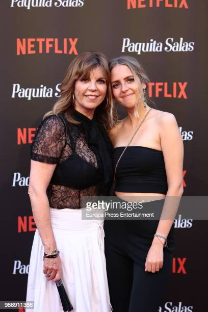 Belinda Washington and Andrea Lazaro attend World Premiere of Netflix's Paquita Salas Season 2 on June 28 2018 in Madrid Spain