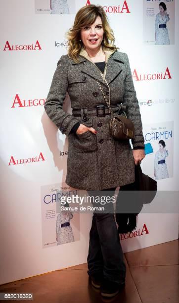 Belinda Washington attends 'Carmen' Presentation in Madrid on November 29 2017 in Madrid Spain