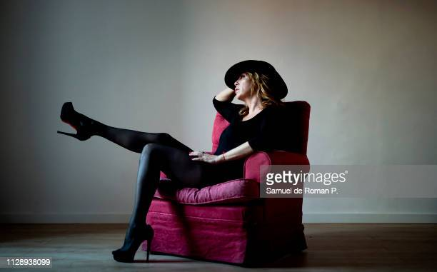 Belinda Washington attends during a portrait session at Mezzanine studio on February 8 2019 in Madrid Spain