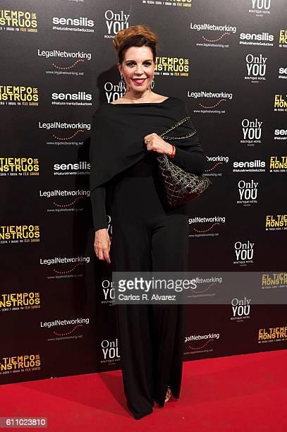 Belinda Washington attends 'El Tiempo De Los Monstruos' premiere at Palacio de la Prensa cinema on September 28 2016 in Madrid Spain