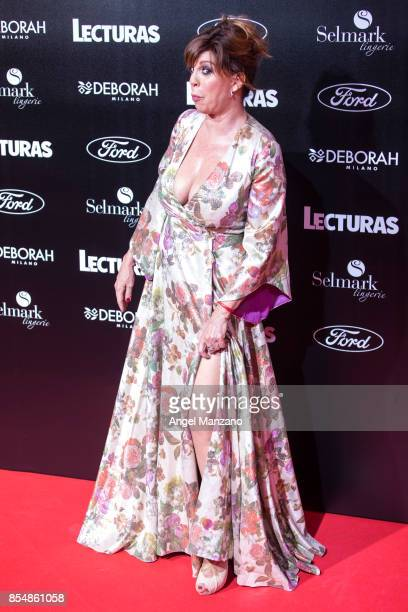 Belinda Washington attends 'Lecturas' Magazine Centenary Party photocall at Florida Retiro on September 27 2017 in Madrid Spain