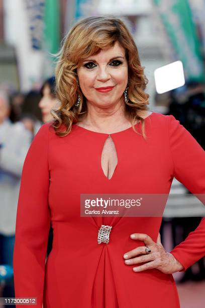 Belinda Washington attends red carpet closing day during FesTVal 2019 at Teatro Principal on September 07 2019 in VitoriaGasteiz Spain