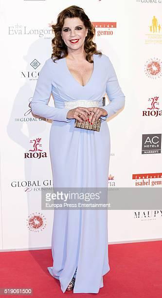 Belinda Washington attends the Global Gift Gala 2016 at Cibeles Palace on April 2 2016 in Madrid Spain