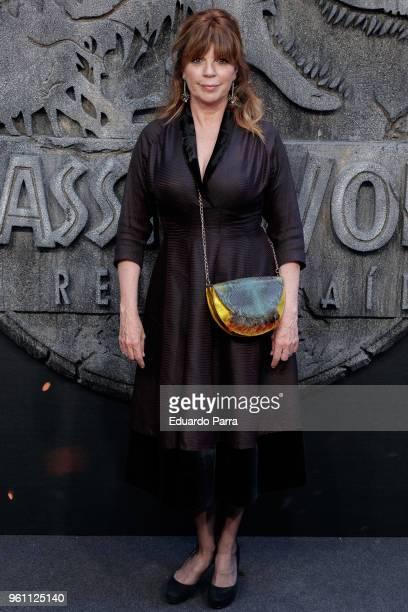 Belinda Washington attends the 'Jurassic World Fallen Kingdom' premiere at Wizink Center on May 21 2018 in Madrid Spain