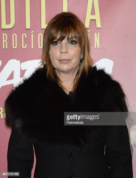Belinda Washington attends the premiere of 'Desatadas' at the Capitol theatre on January 19 2018 in Madrid Spain