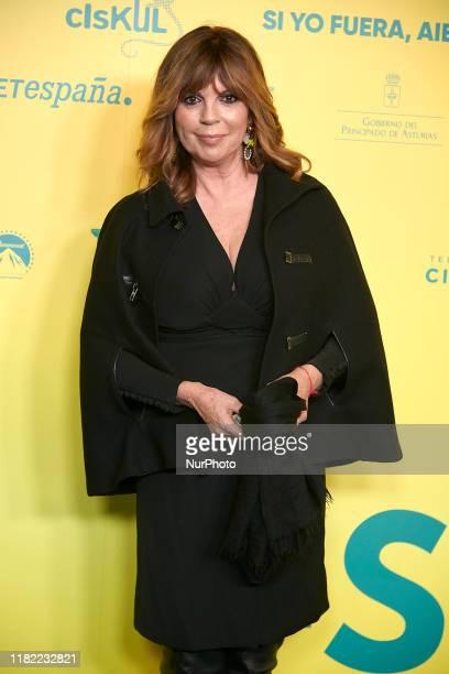 Belinda Washington attends the 'Si yo fuera rico' premiere at 'Capitol cinema' in Madrid Spain on Nov 13 2019