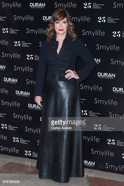 Belinda Washington attends the 'Smylife Collection Beauty Art III' presentation at the ThyssenBornemisza Museum on November 20 2017 in Madrid Spain
