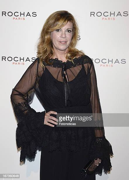 Belinda Washington attends 'Tribut to Freshness and Rochas Women' event at the French embassy on April 24 2013 in Madrid Spain