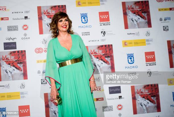 Belinda Washington during 'MadWomen' Awards 2017 photocall on October 5 2017 in Madrid Spain