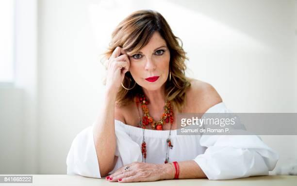 Belinda Washington portrait session on September 1 2017 in Madrid Spain
