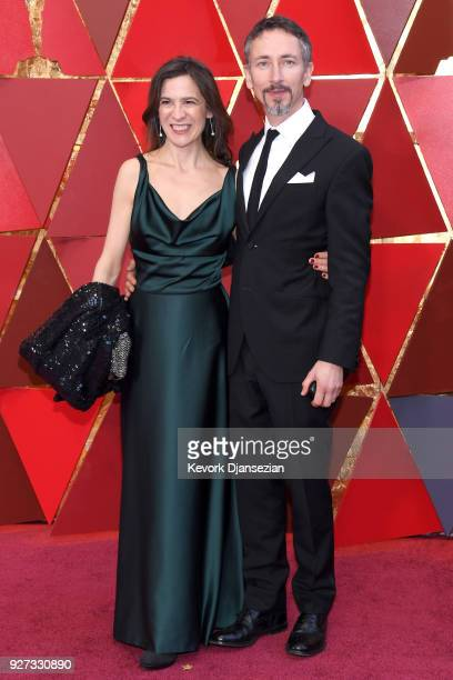Belinda Wilson and Stuart Wilson attend the 90th Annual Academy Awards at Hollywood Highland Center on March 4 2018 in Hollywood California