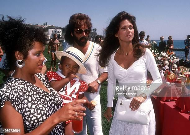 'Belinda Winslow und Tochter Leslie Shuki Lavi Ehefrau Deborah Shelton am Rande vom Dreh zum ZDF/Kinofilm ''Zärtliche Chaoten II'' am im Hotel...