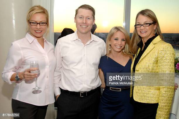 Belisa Vranich Dan Wilmer Jen Mormile and Lori Flynn attend WhatToExpectcom Presents DELIVERING A MOM at Trump Soho on October 13 2010 in New York...