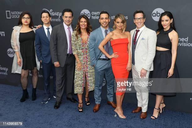 Belissa Escobedo Carlos Gomez David Del Rio Lisa Vidal Victor Rasuk Nathalie Kelley Dan Bucatinsky and Michelle Veintimilla attends the 2019 ABC Walt...