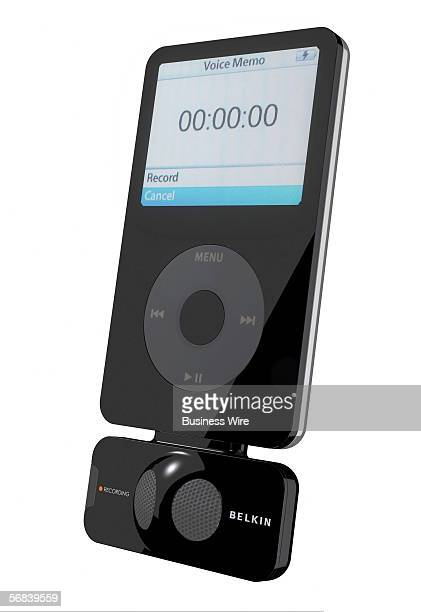 """Belkin Corporation took the iLounge """"Best of Show"""" Award for its new TuneTalk Stereo, a new voice recorder for iPod video. ILounge made the..."""