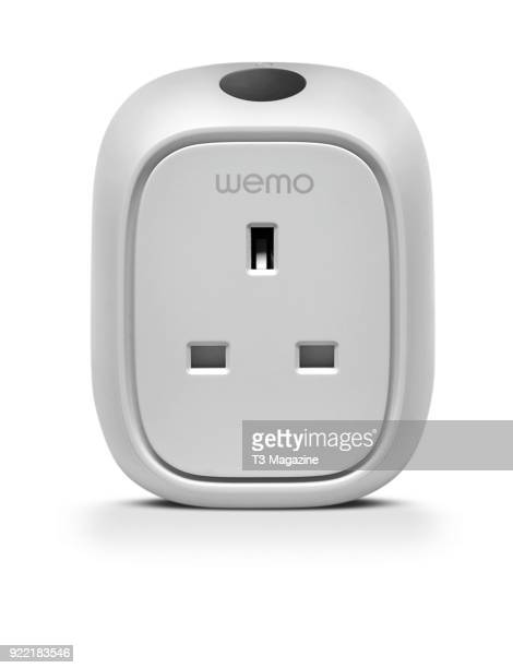 Belkin WeMo Insight Switch wi-fi smart plug, taken on July 13, 2017.