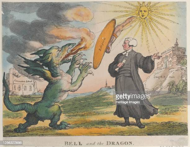 Bell and the Dragon December 9 1811 Artist Thomas Rowlandson
