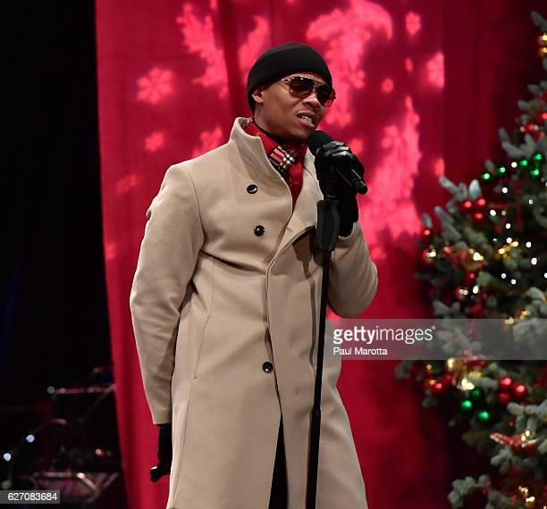 Bell Biv Devoe perform at the Annual Boston Christmas Tree Lighting at Boston Common Park on December 1 2016 in Boston Massachusetts The Christmas...