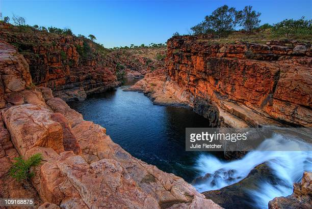 bell gorge east kimberley wa - east stock photos and pictures