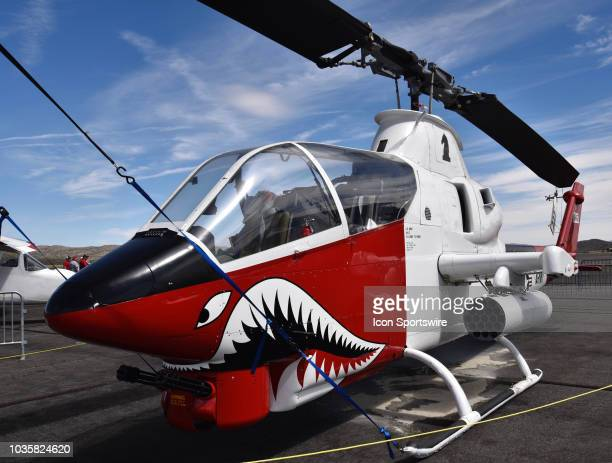 Bell Helicopter Cobra AH1G on display at the 55th National Championship Air Races the only closed course pylon racing event in the world and is the...