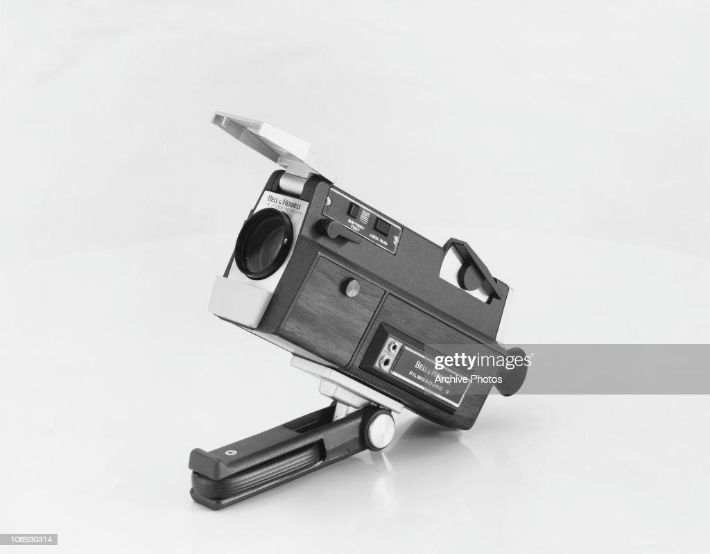 A Bell & Howell Filmosound 8 film camera, circa 1970  News