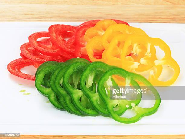 bell peppers - green bell pepper stock pictures, royalty-free photos & images