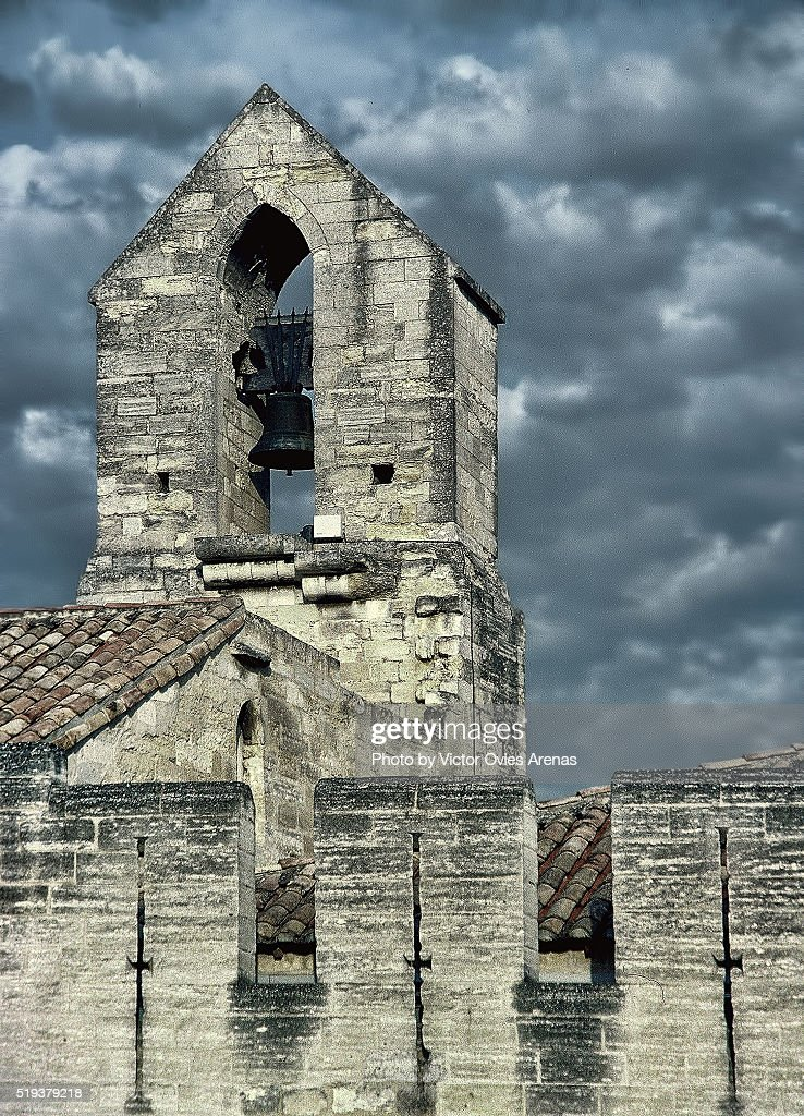Bell Tower and Clouds : Foto de stock