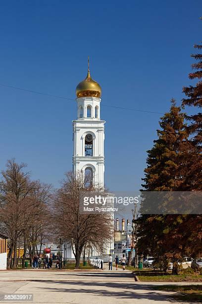 Bell tower in Iversky Female Monastery (Samara)