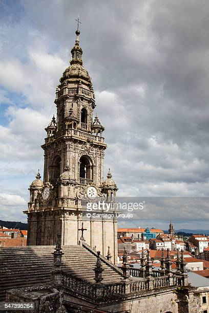 Bell tower of Santiago de Compostela Cathedral
