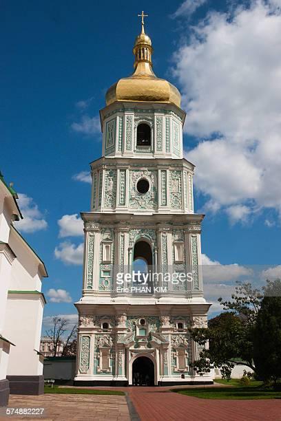 Bell tower of St Sophia Cathedral, Kiev, Ukraine