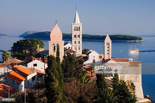 Bell Towers of Rab Town
