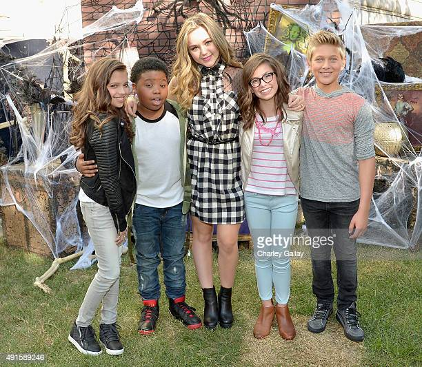 Bella and the Bulldogs star Brec Bassinger and the cast of Nickelodeon's Game Shakers greet kids and fans at a special Halloweenthemed event at the...