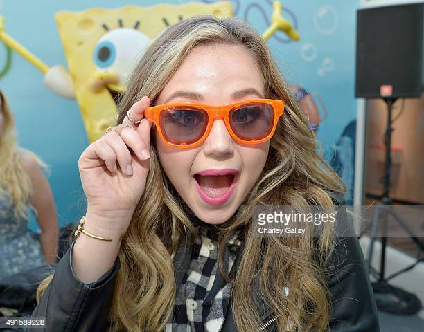 Bella and the Bulldogs star Brec Bassinger greets kids and fans at a special Halloweenthemed event at the Nickelodeon Animation Studio in Burbank...