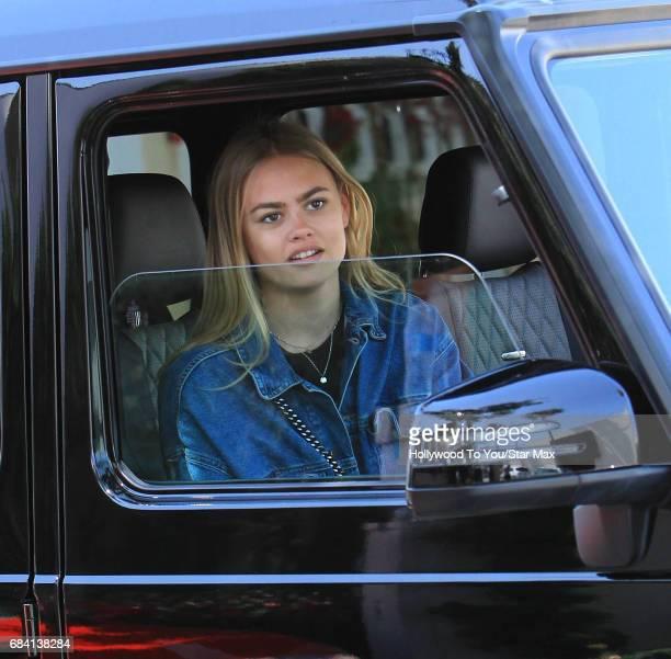 Bella Banos is seen on May 16 2017 in Los Angeles CA