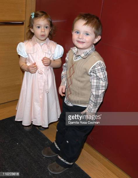 Bella Cuomo and Augustus Albemarle during Bella Cuomo and Augustus Albemarle's Birthday Party March 17 2005 at Burberry in New York City New York...