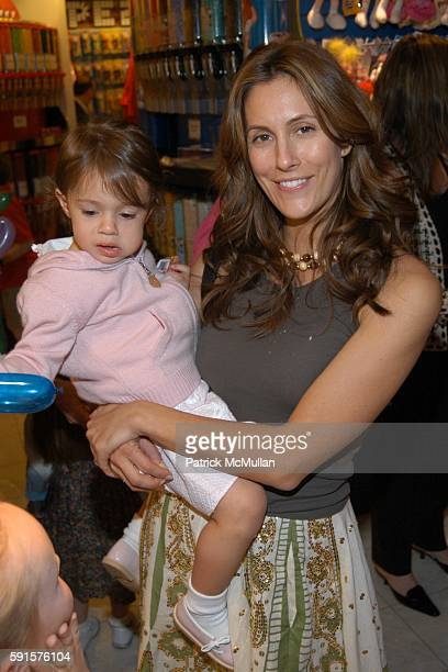 Bella Cuomo and Cristina Greeven Cuomo attend Lenox Hill Neighborhood House's Annual Kids in Candyland Event at Dylan's Candy Bar on May 23 2005 in...
