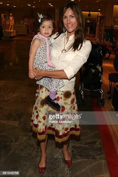 Bella Cuomo and Cristina Greeven Cuomo attend 'Lucy Sykes Baby' Launch of Collection at Saks Fifth Avenue Manhattan at Saks Fifth Avenue on April 6...