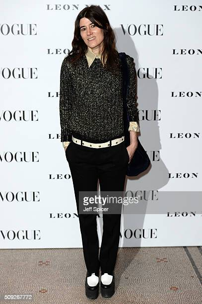 Bella Freud attends at Vogue 100 A Century Of Style at the National Portrait Gallery on February 9 2016 in London England