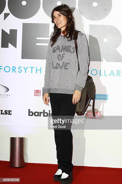 """Bella Freud attends the """"20,000 Days on Earth"""" screening at Barbican Centre on September 17, 2014 in London, England."""