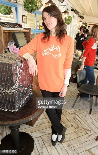 Bella Freud attends the launch of Bella Freud's signature fragrance the latest addition to the Bella Freud Parfum collection on the Selfridges...