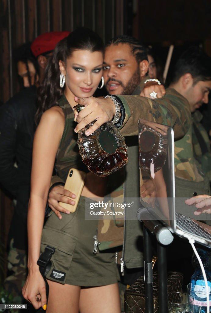 The Weeknd Celebrates His Birthday At TAO Downtown With Remy Martin : Nachrichtenfoto