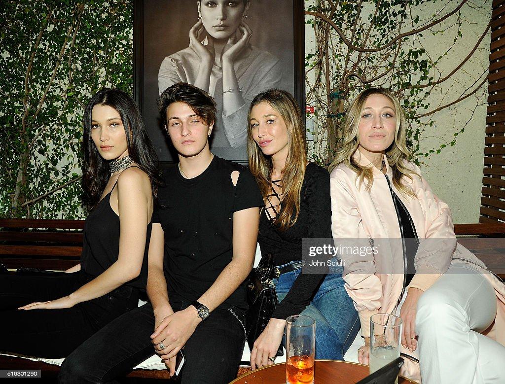 Joe's Jeans + Bella Hadid Celebrate The Launch Of The 2016 Joe's Jeans Campaign : News Photo