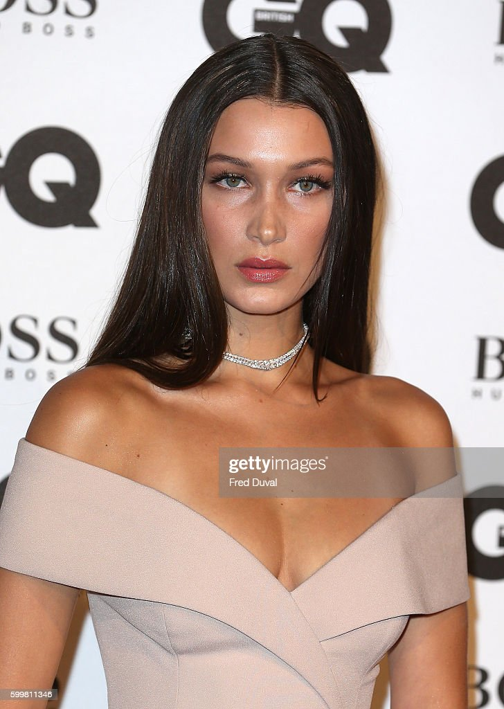 Bella Hadid arrives for GQ Men Of The Year Awards 2016 at Tate Modern on September 6, 2016 in London, England.