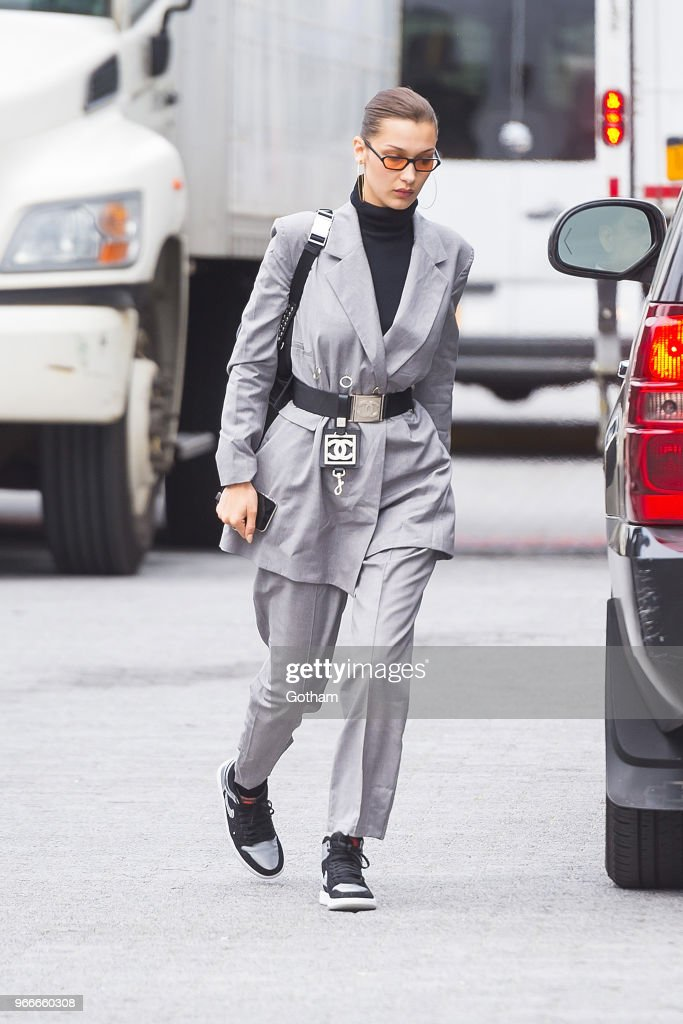 Celebrity Sightings in New York City - June 3, 2018 : Nachrichtenfoto