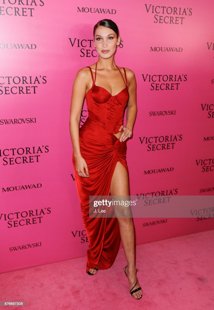 Bella Hadid at the 2017 Victoria's Secret Fashion show afterparty on November 20, 2017 in Shanghai, China.